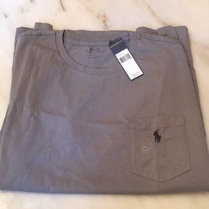 Ralph Lauren Polo Classic T Shirt Pocket Sz L New